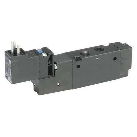 Solenoid Air Control Valve, 1/8 In, 120VAC
