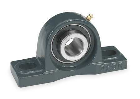 "Pillow Block Bearing, Ball, 2-3/16"" Bore"