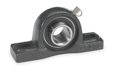"Pillow Block Bearing, Ball, 3/4"" Bore"