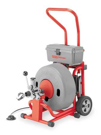 Drum-Type Drain Cleaning Machines