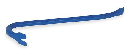 Gooseneck Wrecking Bar, 12 In, 1/2 In Dia