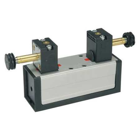 Solenoid Air Control Valve, 4-Way, 2-Pos