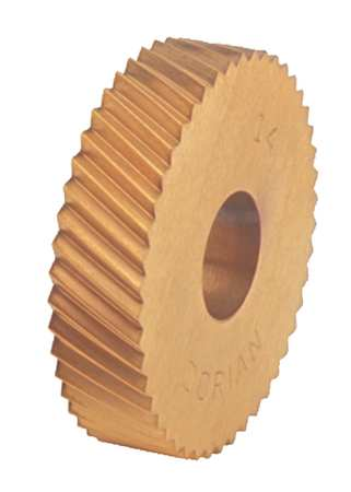 Knurl Wheel, M Series, RH DIAG, 1 In, 20 TPI