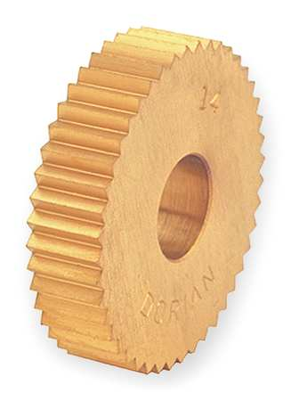 Knurl Wheel, D Series, STR, 1/2 OD, 30 TPI