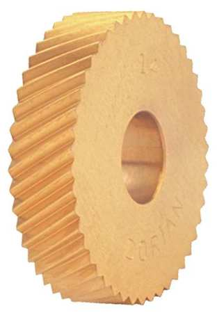 Knurl Wheel, M Series, LH DIAG, 1 In, 20 TPI