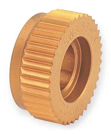 Knurl Wheel, SW4, STR, 1 In OD, 25 TPI