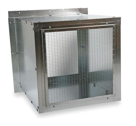 Wall Housing, Galv Steel, For 42 In Fan