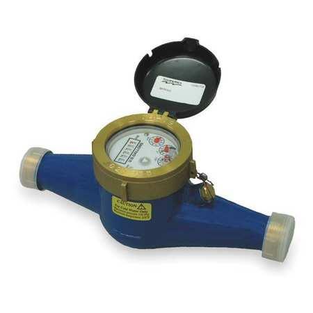 Flowmeter, Inline, 52 GPM,  1 In.