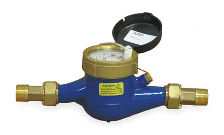 Flowmeter,  Pulse,  22 GPM,  3/4 In.