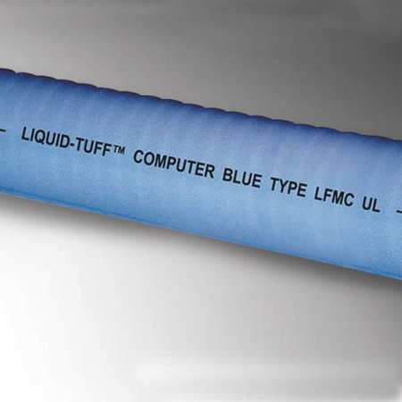 Liquid-Tight Conduit, 2-1/2In x 25ft, Blue