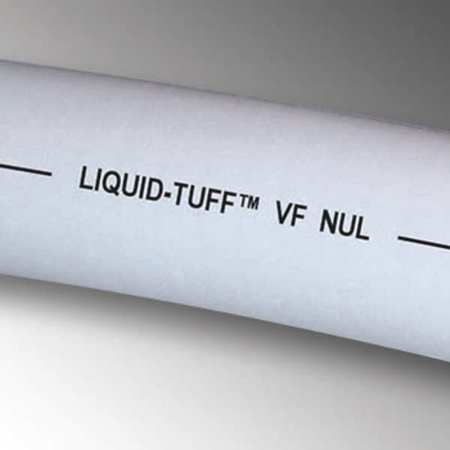Liquid-Tight Conduit, 1/2 In x 50ft, Gray