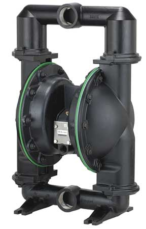 "2"" Aluminum Air Double Diaphragm Pump 172 GPM 180F"