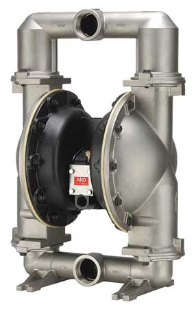 "2"" Stainless Steel Air Double Diaphragm Pump 172 GPM 200F"