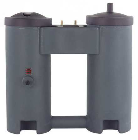 Oil Water Separator, 300 CFM, 1/2 In Inlet