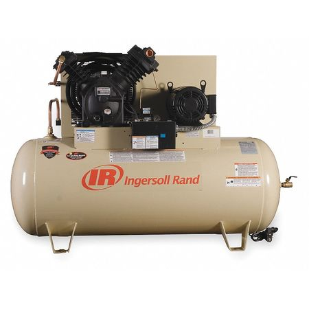 Electric Air Compressor, 2 Stage, 10 HP