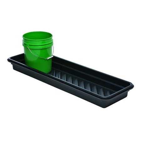 Spill Tray, 4-3/4 In. H, 12 In. L, 48 In. W