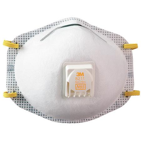 Disposable Respirator, N95, Universal, PK10