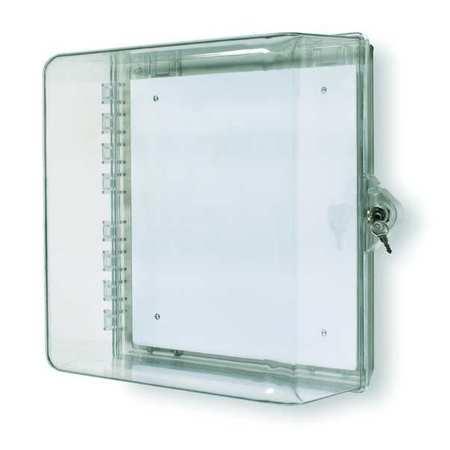 Enclosure w/Lock, Polycarbonate, Surface