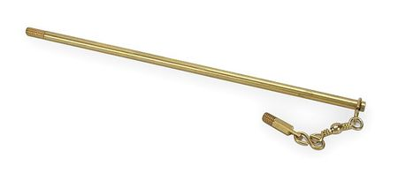 Nuzzle Assembly, 3/8-16, 12 In L, Brass