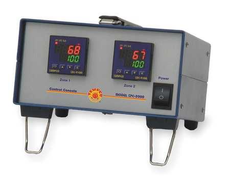 Temp Controller, RTD, 2 Zone, 120V