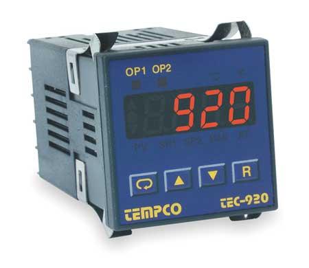 Temp Controller, Prog, 90-250V, Relay2A