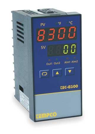 Temp Controller, Prog, 90-264V, Relay2A
