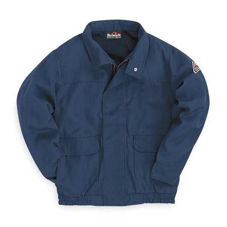 Flame-Resist Bomber Jacket, Ins, Navy, 2XL