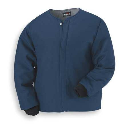 Flame-Resist Jacket Liner, Navy, 2XL, HRC 4