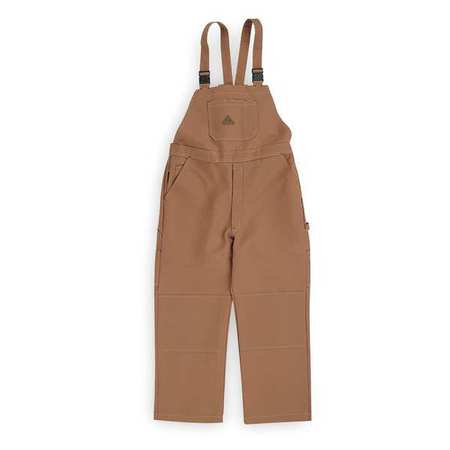Bib Overalls,  Brown,  Cotton/Nylon