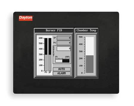 Touch Panel, 6In STN Monochrome, 75000 Hrs,  Min. Qty 5