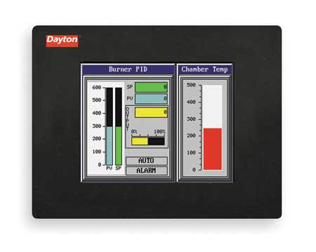 Touch Panel, 6In STN Color/Ether, 50000 Hr