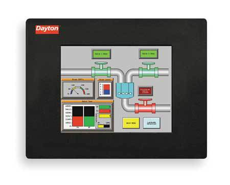 Touch Panel, 6In TFT Color, 50000 Hrs