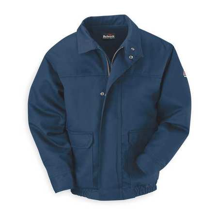 Flame-Resistant Bomber Jacket, Navy, XL