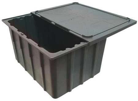 Barracuda Box,  2 cu. ft.,  Gray