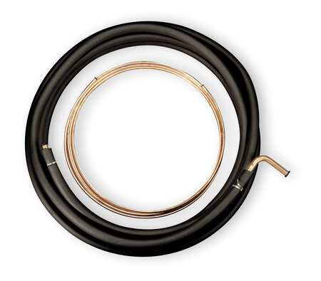 Refrigerant Line Set, Copper Roll, L 30 Ft