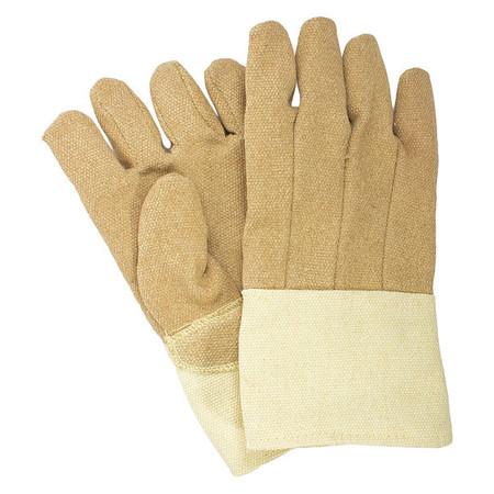 Heat Resist Gloves, Brown, PBI/Kevlar, PR
