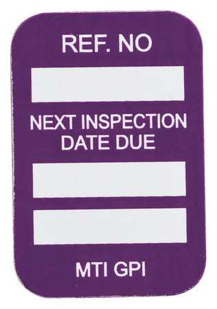 Microtag(r) Inspection Insr, Vinyl, PK100