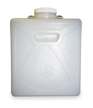 Plastic Carboy, 5 Gal, w/SS Handle and Cap