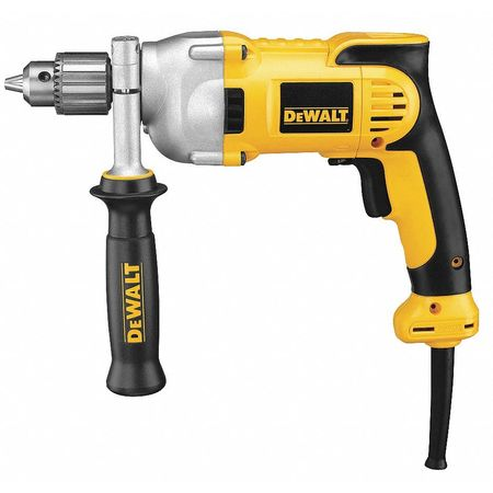 Electric Drill, 1/2In, 0 to 1250 rpm, 10.0A