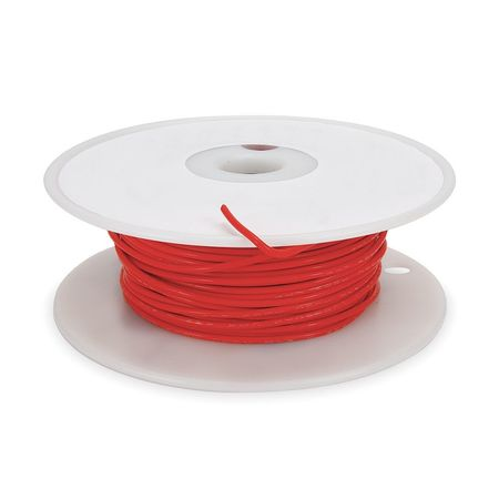 High temp Lead Wire, 22 Ga, Red