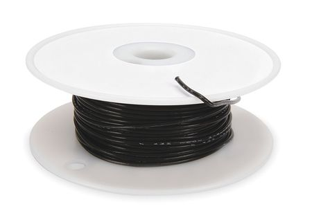 High temp Lead Wire, 20Ga, Black