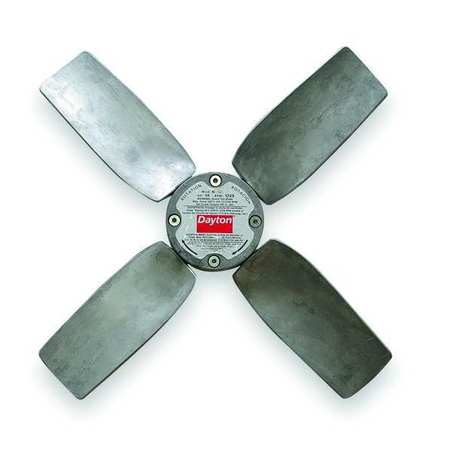 Propeller, 20 In, 1/2 Bore, 4580 CFM