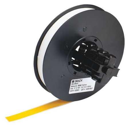 Tape Cartridge, Yellow, 100 ft. L