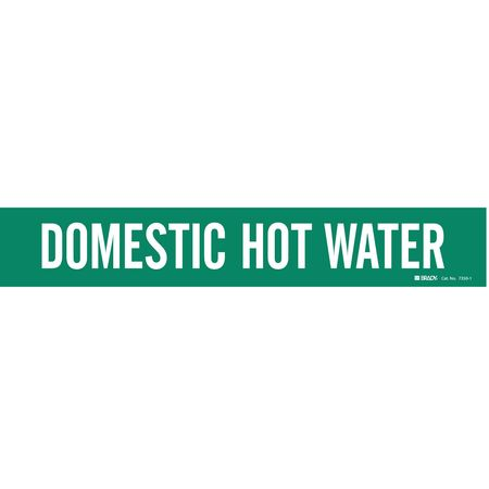 Pipe Mkr, Domestic Hot Water, 2-1/2to7-7/8