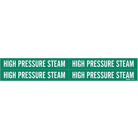 Pipe Mrkr, High Pressure Steam, 3/4to2-3/8