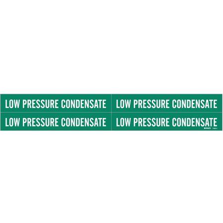Pipe Marker, Low Pressure Condensate, Gn