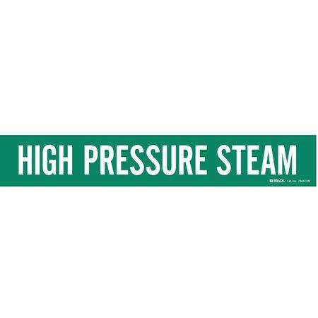 Pipe Mrkr, High Pressure Steam, 8In orGrtr