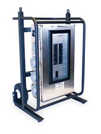 Power Distribution Cart, 200 AC, (2)L6-30R