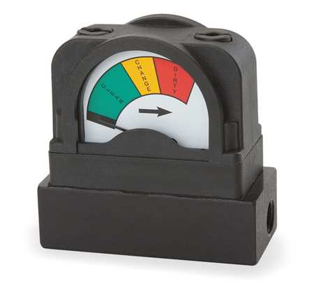 Pressure Indicator, 0 to 15 psi