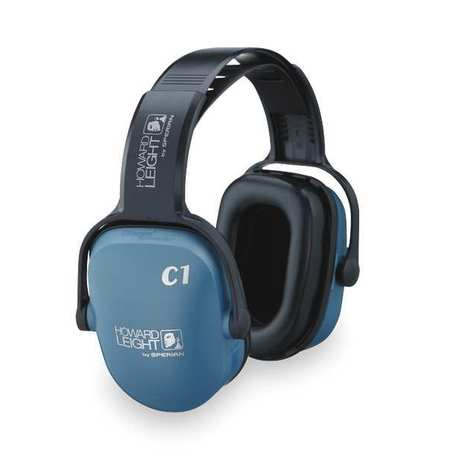 Ear Muff, 20dB, Headband, Blue